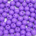 Beads, Acrylic, Light purple, Spherical, Diameter 8mm, NA, 10g, 30 Beads, (slz0094)